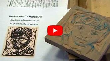 miniatura Youtube video - Antonio La Gamba - Xilografia: tra arte ed artigianato