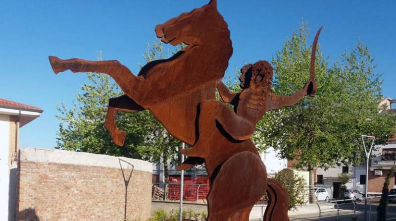 Statua equestre di Gioacchino Murat